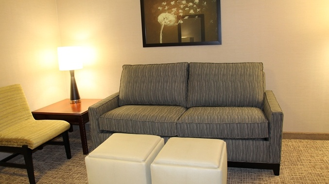 King Executive Suite Seating Area 13 of 16