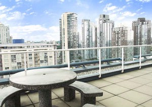 Our Picturesque Patio With Breathtaking Views Of False Creek 8 of 13