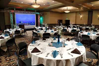 Cayuse Hall Set Up Banquet Style 6 of 12