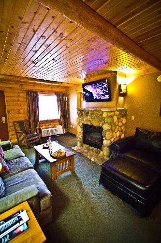Log Cabin Suite Family Room 7 of 8