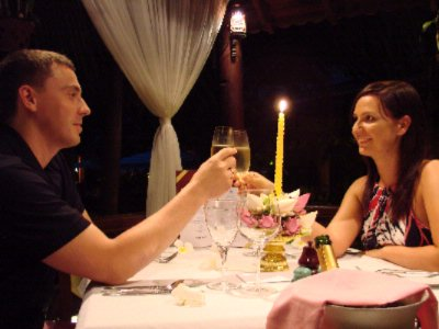 Romantic Dinner Couple 14 of 28
