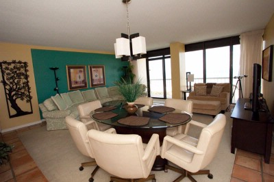 Sample Living / Dining Area With Ocean View 14 of 21