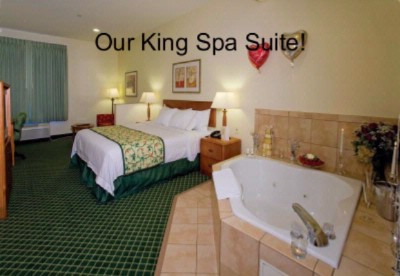 Enjoy Our Private Jacuzzi Suites 4 of 10