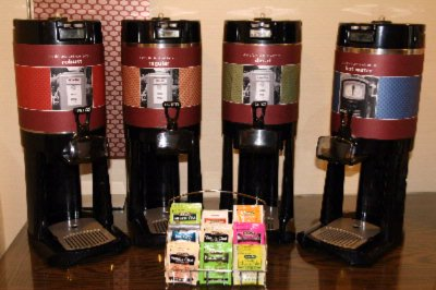 Complimentary Coffee & Tea 24 Hrs A Day 4 of 17