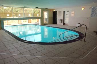 Enjoy Our Unique Indoor/outdoor Pool! 7 of 12