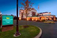 Homewood Suites by Hilton Newtown Exterior Night Photo