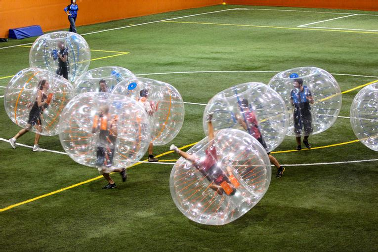 Bubble Football One Of The Activities Offered By The Multisport 17 of 18