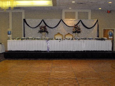 Head Table & Dance Floor 15 of 24