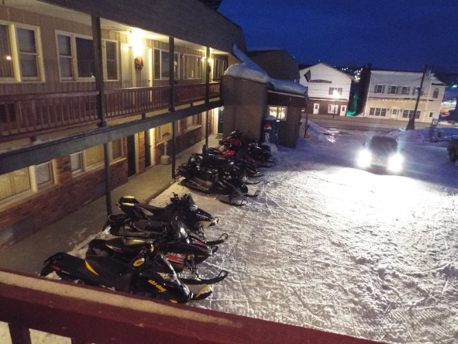 Snow Mobiler\'s Enjoying Their Stay @ Ahivb 6 of 9