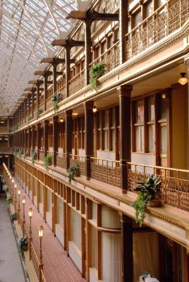 Intricate Detailing Of The Historic Arcade Takes You Back To Another Era 6 of 10