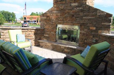Outdoor Patio And Fireplace 10 of 31