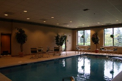 Sparkling Clear Indoor Heated Swimming Pool 4 of 6