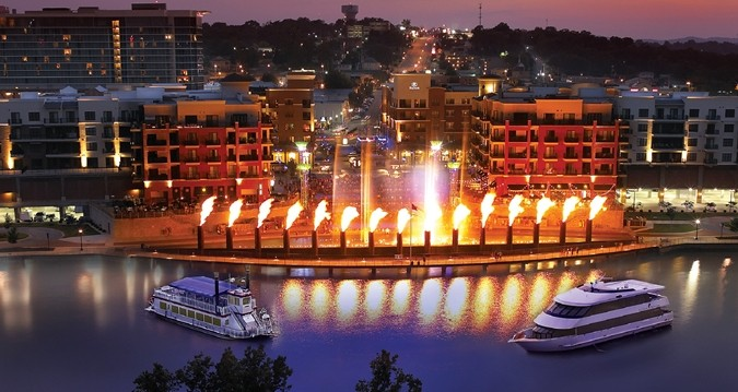 Branson Landing Fountains 5 of 7