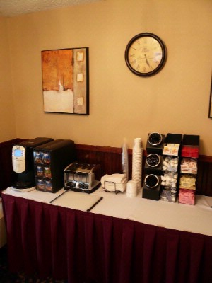 Complimentary Continental Breakfast Daily. Coffee Available In Our Lobby. 5 of 10