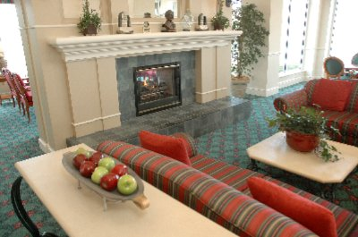 Pavilion Lounge With Fireplace 7 of 8