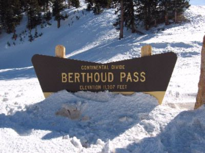 What You See As You Summit Berthoud Pass. 12 of 15