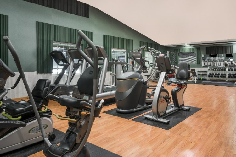 Enjoy Our Large Fitness Center! 3 of 8