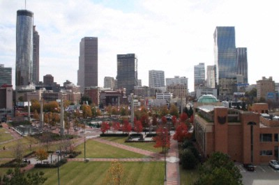 Centennial Olympic Park And Atlanta Skyline 15 of 22