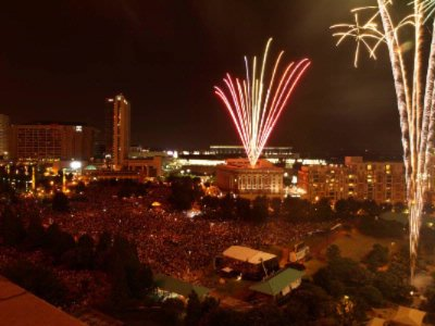 Embassy Suites And Centennial Olympic Park -July 4th Fireworks 4 of 22