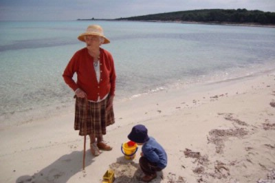 Saharun Sandy Beach With Our Grandmother 16 of 31