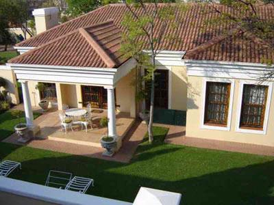 Aerial View Of Self-Catering Cottage Private Garden Fully Equipped Private Entrance And Garden 6 of 8