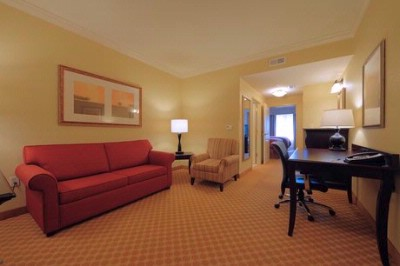 Country Inn & Suites Columbia Harbison Double Queen Bed Suite 6 of 9