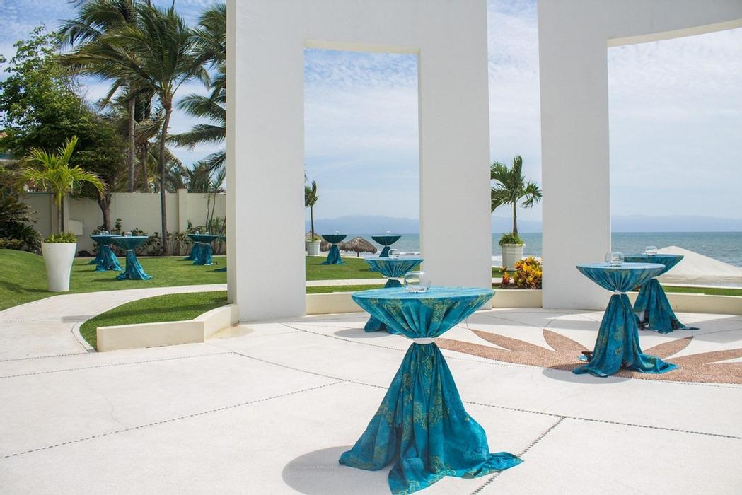 Gazebo -Private Function -Location: Oceanfront To The Side Of Azul Restaurant Characteristics: Outdoor Space With Three Majestic Stone Windows Framing The Sea. 21 of 31