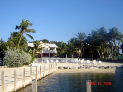 From Florida Bay Looking At Suites Beach & Pool Area. 2 of 11