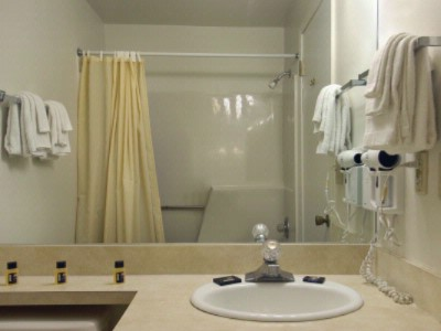 Bathroom Includes Hair Dryer 8 of 12