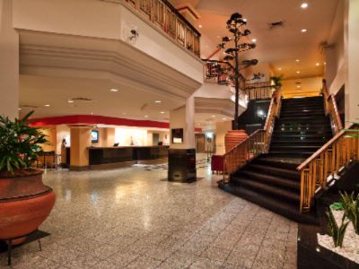 Foyer Of Hotel With Staircase Leading To Conference Level 3 of 16