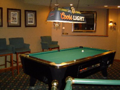 Enjoy Billards And Big Screen Tv In Safari\'s Lounge 8 of 14