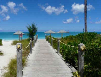 Entrance To Grace Bay Beach 4 of 15