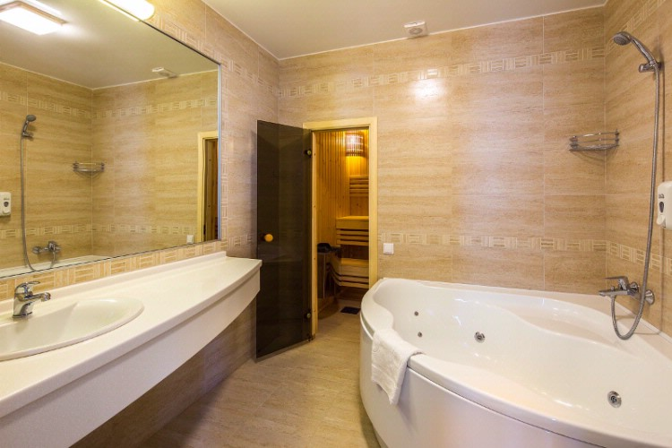 Nevsky Hotel Grand. Bathroom In A Suite 8 of 9