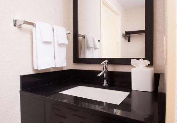Cleanliness Is Important And Our Sleek Bathrooms Are Always Pristine 9 of 12