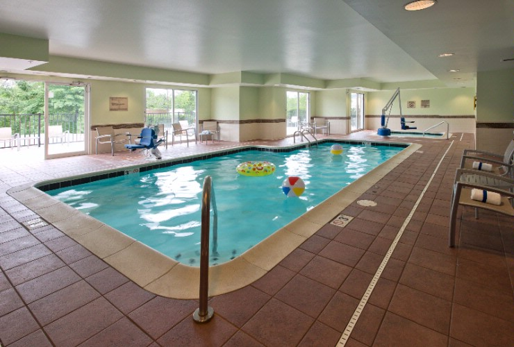 In Your Spare Time Take A Dip In Our Indoor Pool & Whirlpool 5 of 8