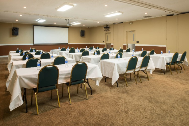 Our Banquet And Conference Space Can Accomodate Your Large Gathering. We Also Have A Full Catering Staff Available. 12 of 12