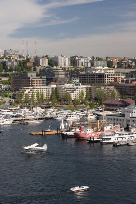 Overhead View Of The Residence Inn By Marriott Seattle Downtown-Lake Union 3 of 16
