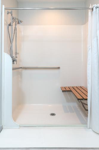 Two Queen Suite Mobility Accessible Roll-In Shower 19 of 29