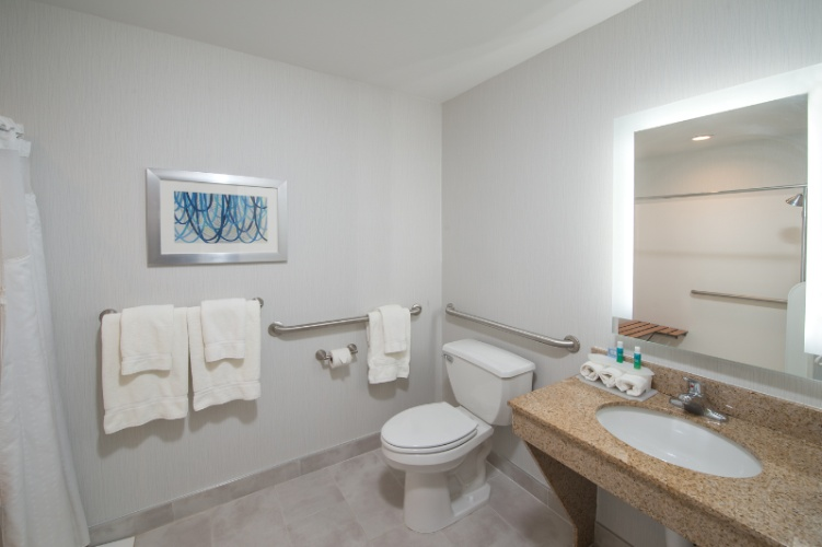 Two Queen Suite Mobility Accessible Bathroom 20 of 29