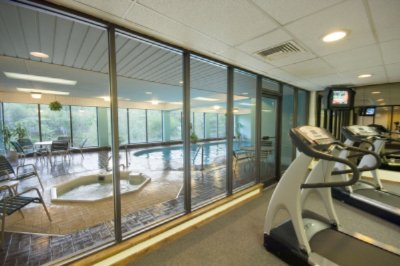Exercise Room Indoor Pool And Whirlpool 5 of 9