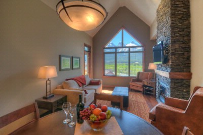 Stoneridge Mountain Resort One Bedroom Suite Living Room 3 of 11