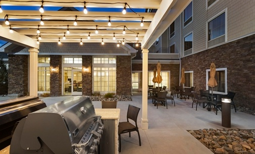 Outdoor Kitchen Area With Barbecue Grills 16 of 17