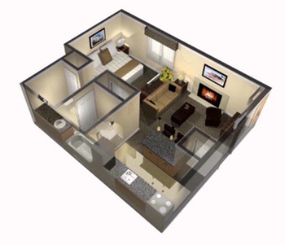 Studio Suite Floorplan 12 of 12