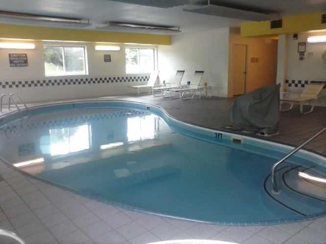 Indoor Pool 6am -11pm Daily 6 of 9