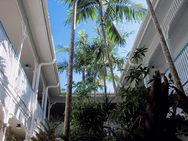 Covered Walkways To Your Apartment With Tropical Gardens Outside Your Apartment Door 6 of 17