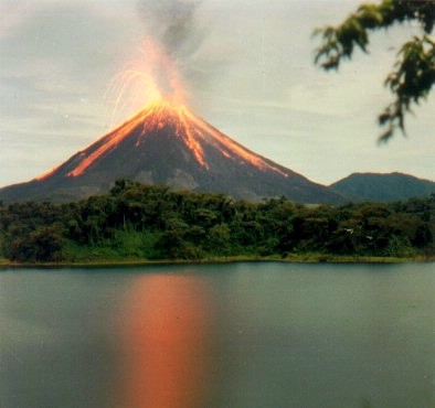 Arenal Volcano Eruption 9 of 16