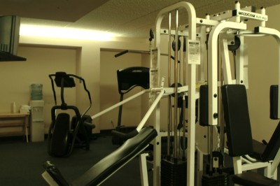 Work Out The Stress In Your Life. The Fitness Room Is A Full Service Amenity. 3 of 9
