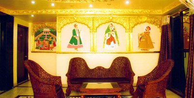 Lobby With Rajastahni Paintings. 2 of 10