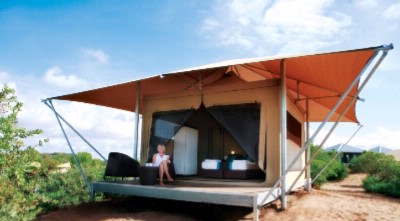 Safari Style Eco Tent 7 of 10