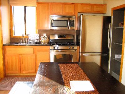 Safari Cabin\'s Fully-Equipped Kitchen 8 of 10